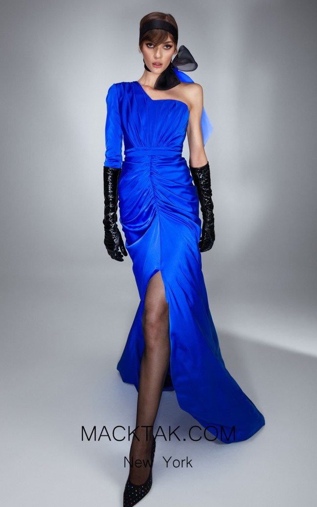 Ana Radu AR021 Royal Blue Front Dress