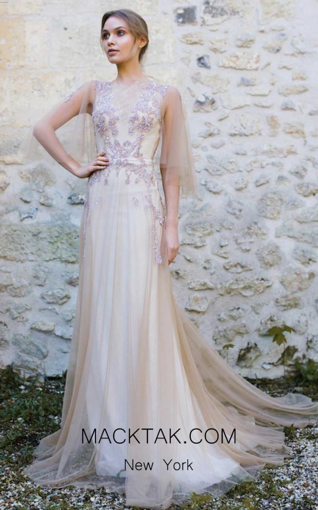 Ange Etoiles Eva Ivory Front Bridal Dress