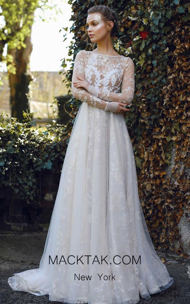 Ange Etoiles Ilayn Ivory Front Bridal Dress