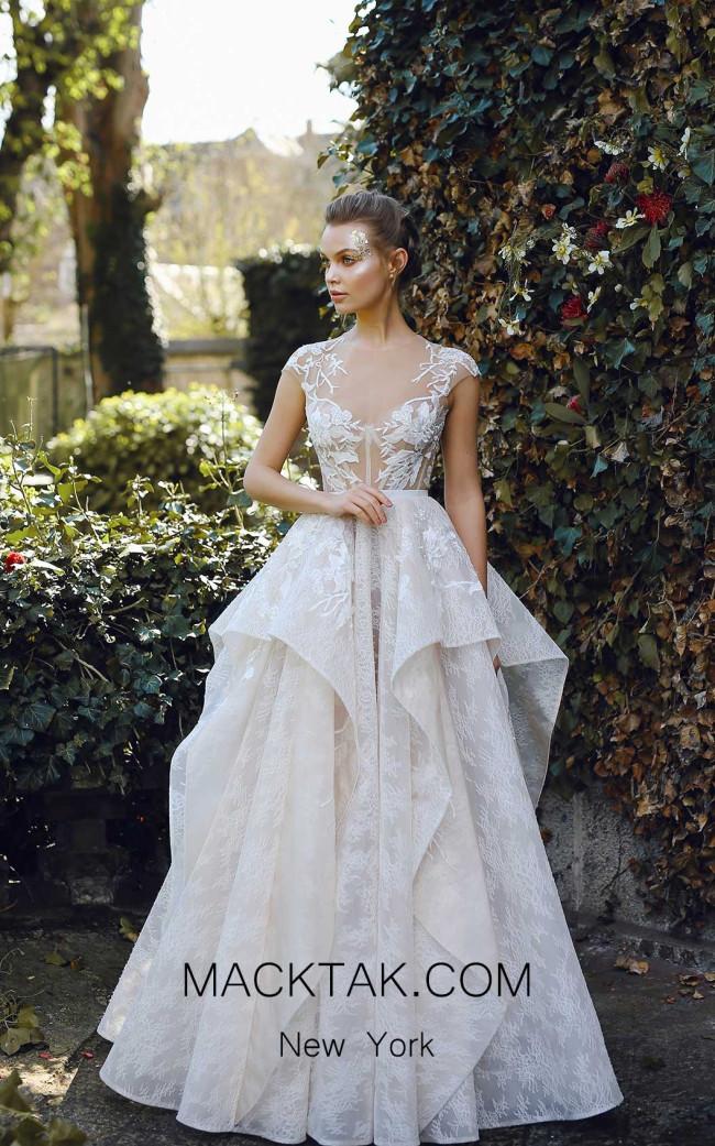 Ange Etoiles Janel Ivory Front Bridal Dress