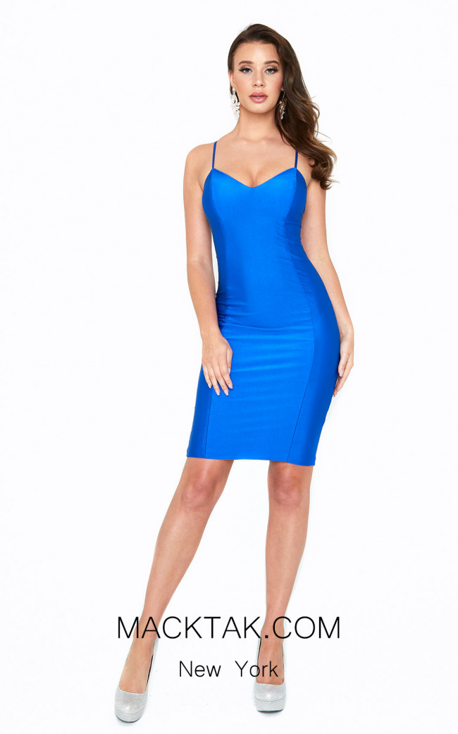 Atria 6009S Blue Front Dress