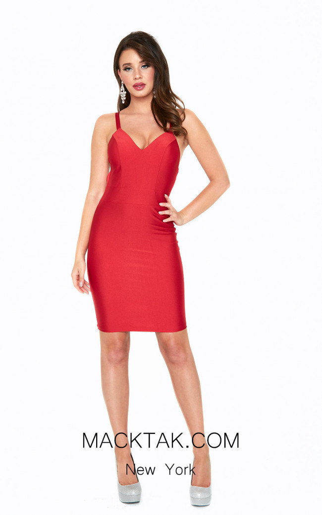 Atria 6300S Red Front Dress