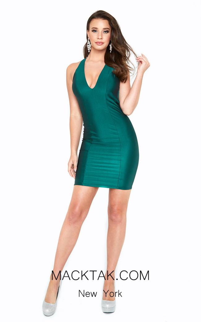 Atria 6309S Green Front Dress