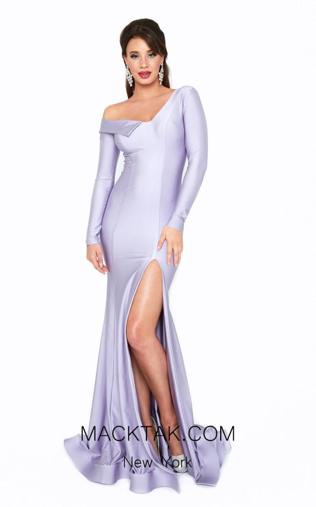 Atria 6507H Purple Front Dress