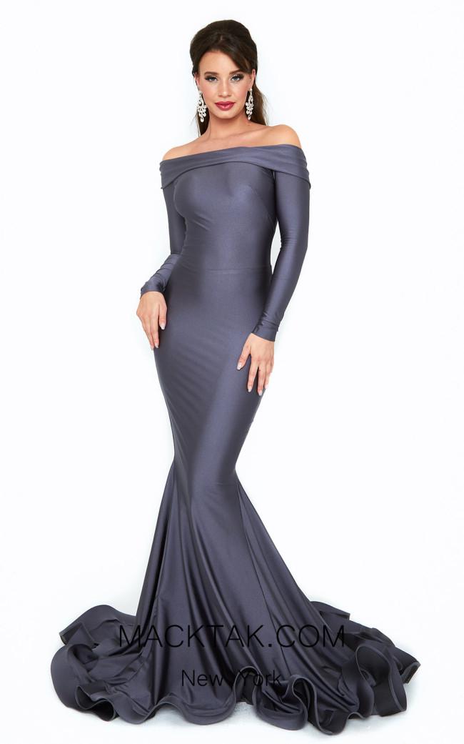 Atria 6509H Gray Front Dress