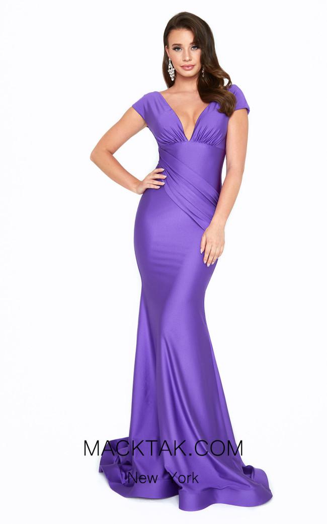 Atria 6515H Purple Front Dress
