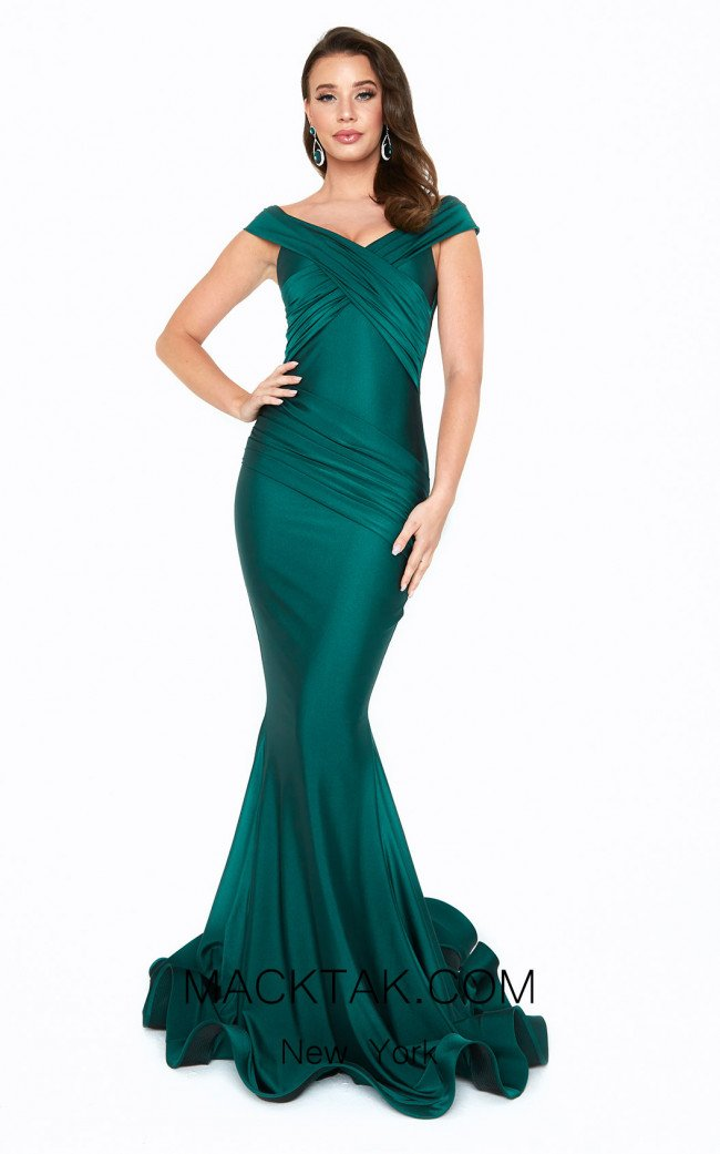 Atria 6519H Green Front Dress
