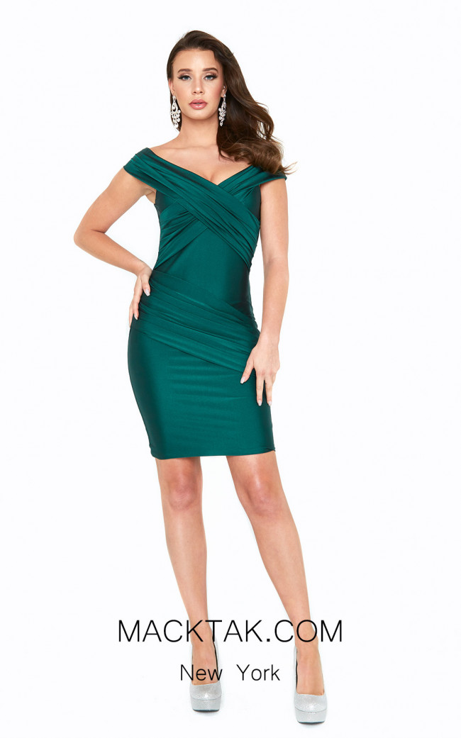 Atria 6519S Green Front Dress