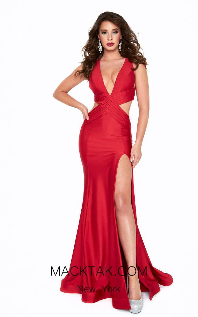 Atria 6525H Red Front Dress
