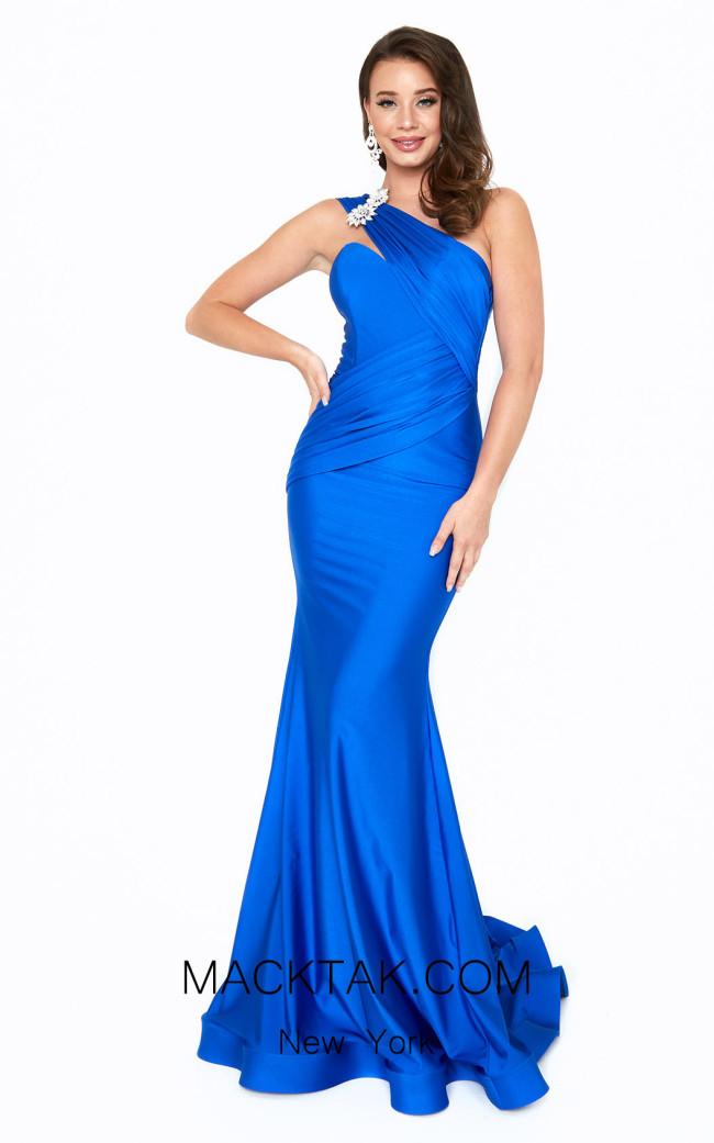 Atria 6528H Blue Front Dress