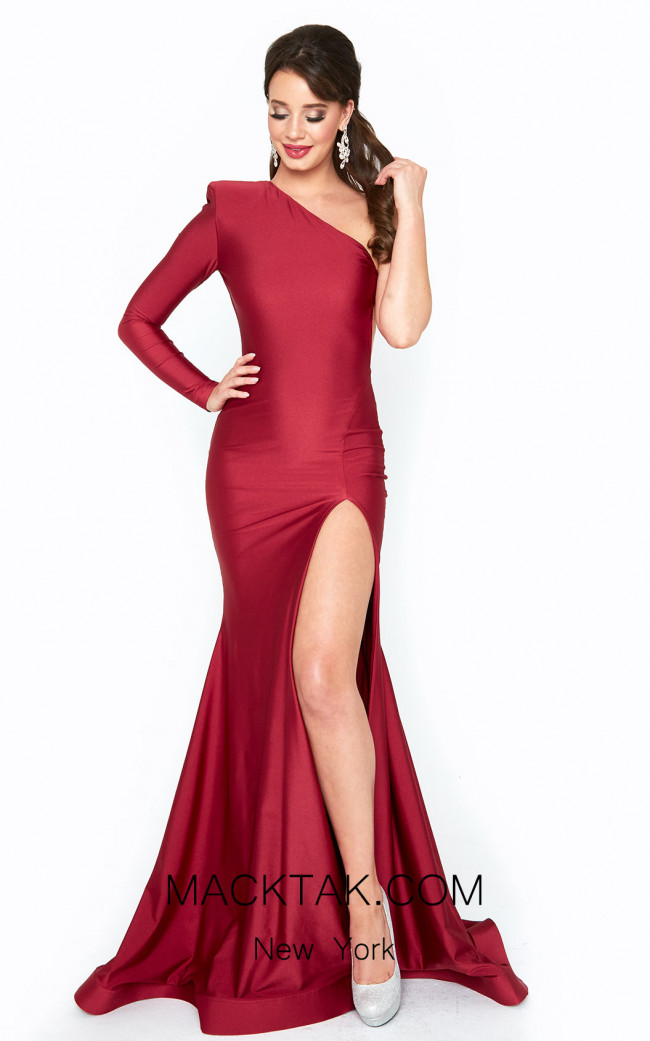 Atria 6529H Red Front Dress