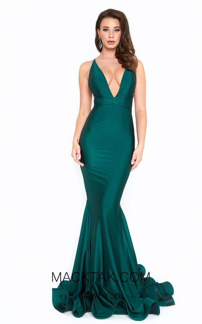 Atria 6530H Green Front Dress