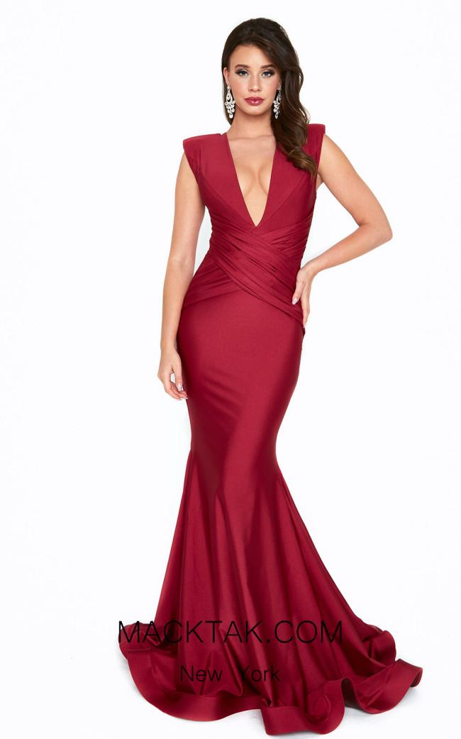 Atria 6537H Red Front Dress