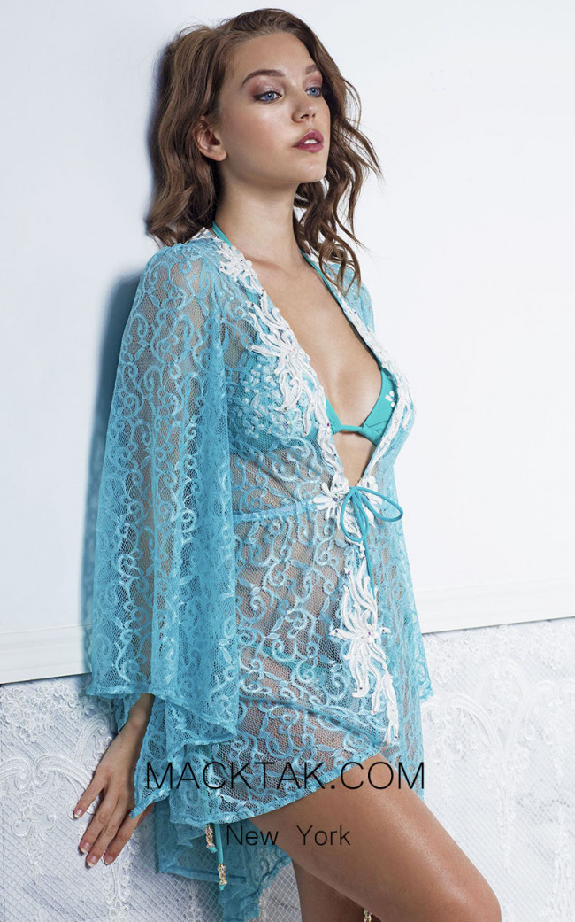 Baccio Kika Cover Up Aqua Front