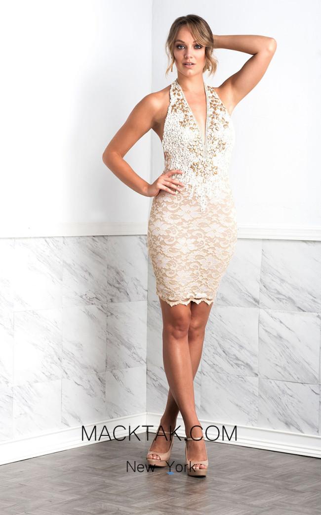 Baccio Liza Cream Front Dress