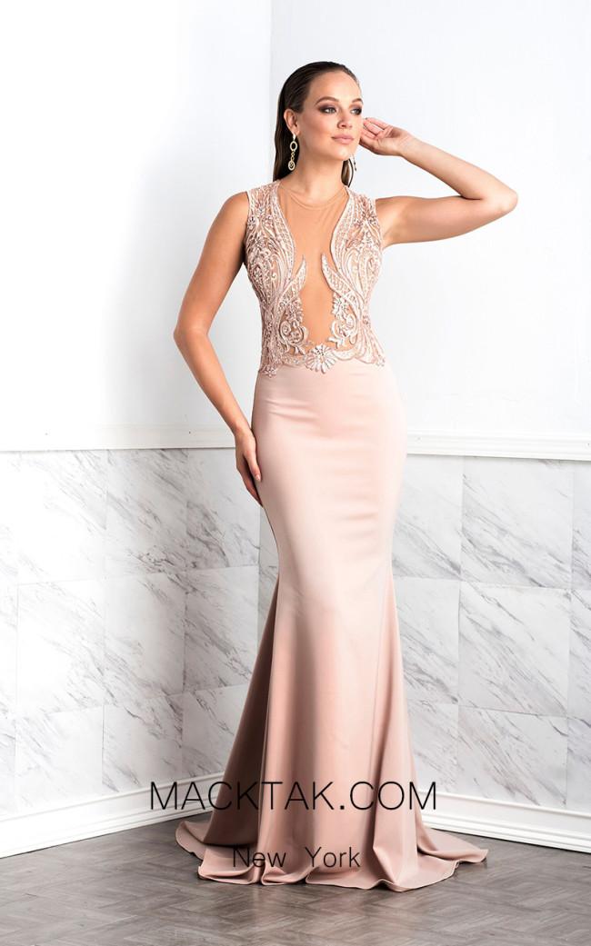 Baccio Margot Pink Front Dress