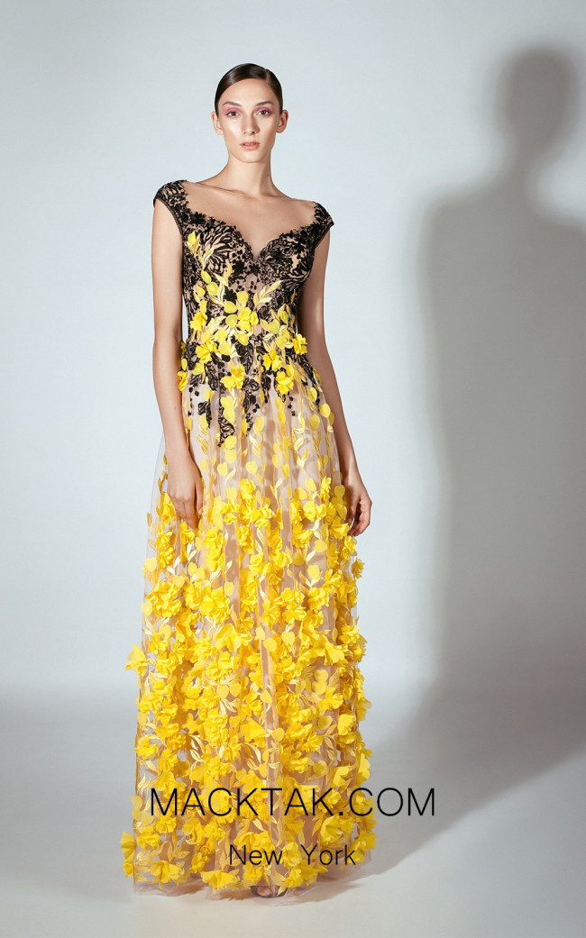 Beside Couture by Gemy Maalouf BC1437 Front Dress