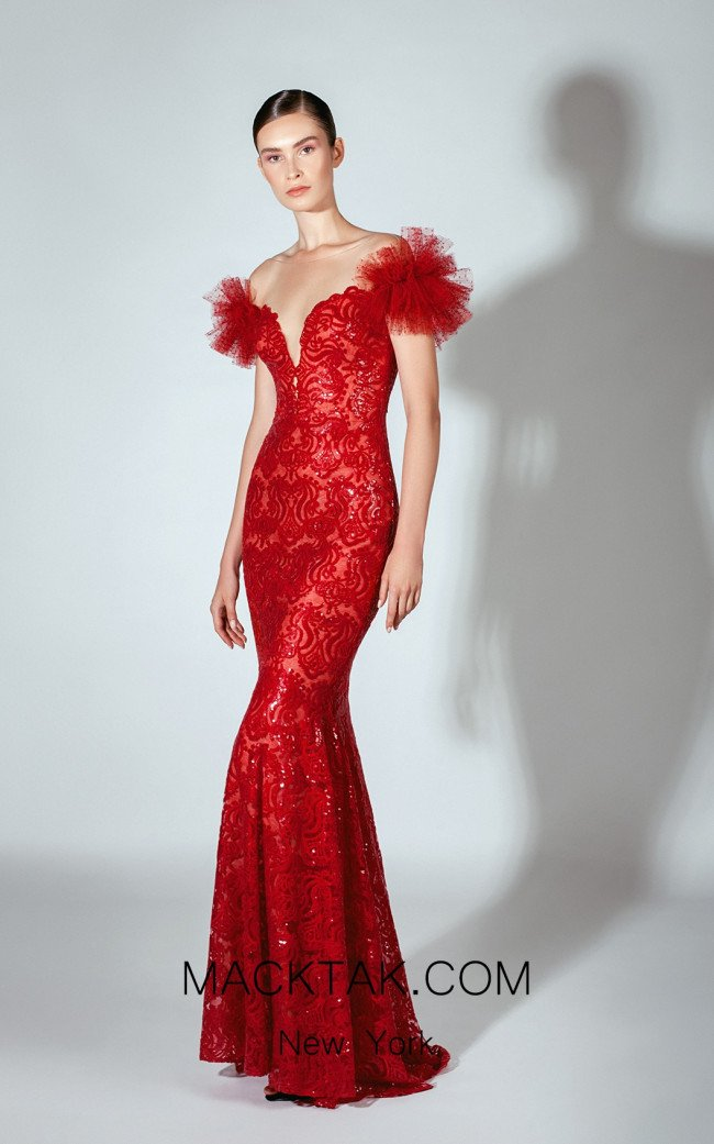 Beside Couture by Gemy Maalouf BC1457 Front Dress