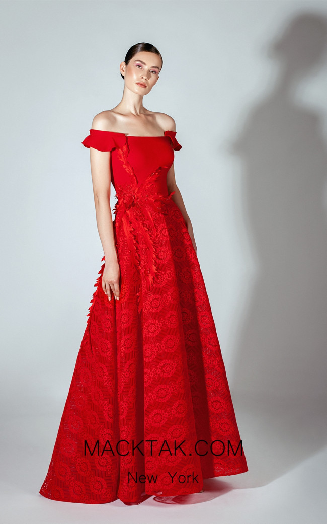 Beside Couture by Gemy Maalouf BC1458 Front Dress
