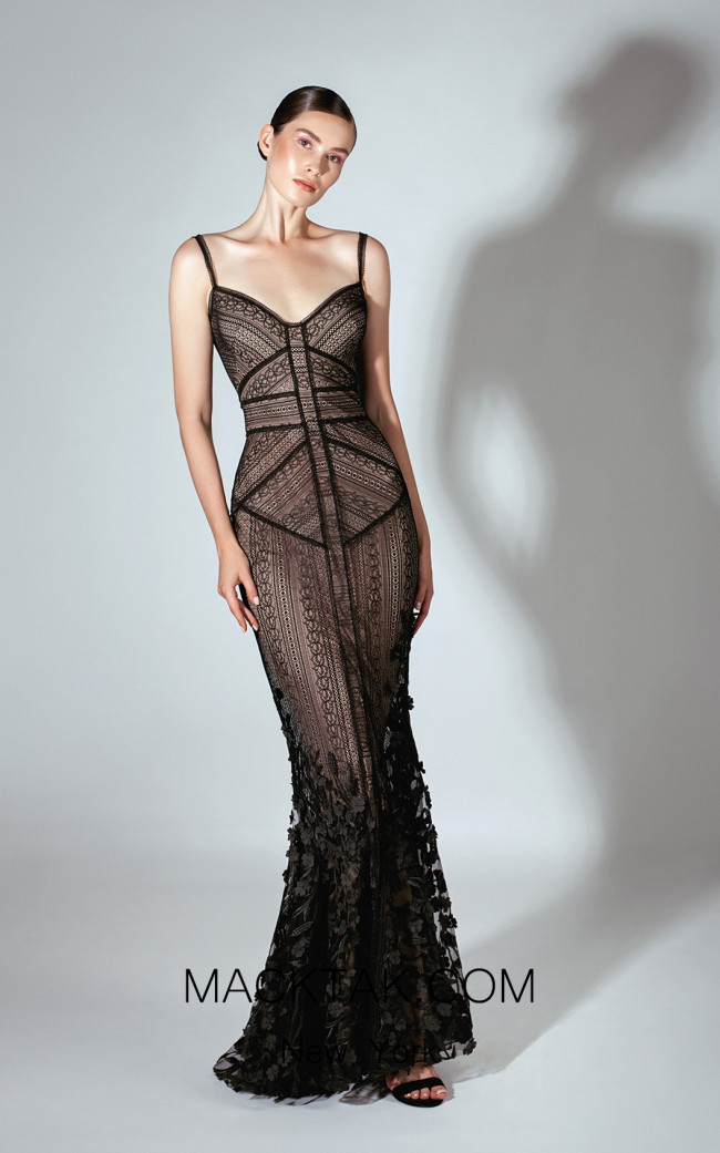 Beside Couture by Gemy Maalouf BC1464 Front Dress