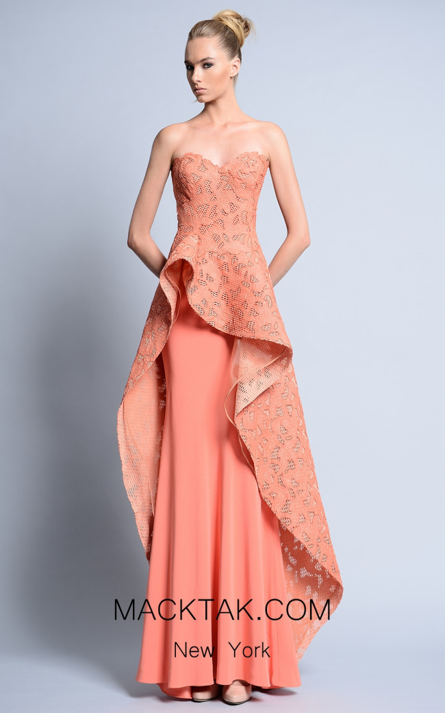 Beside Couture by Gemy Maalouf BC1094 Front Dress