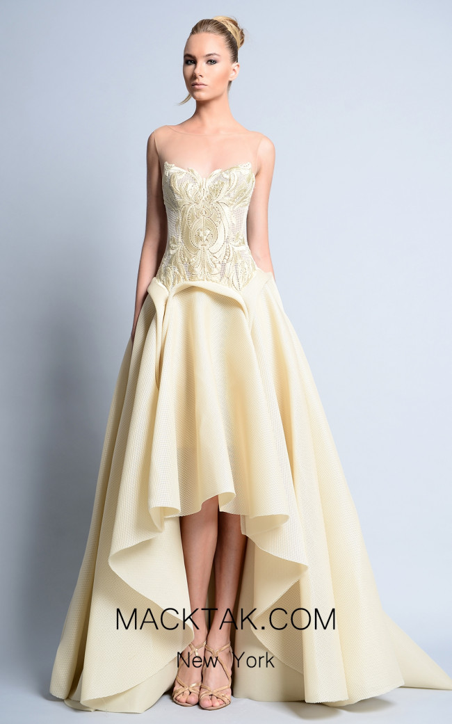 Beside Couture by Gemy Maalouf BC1115 Front Dress
