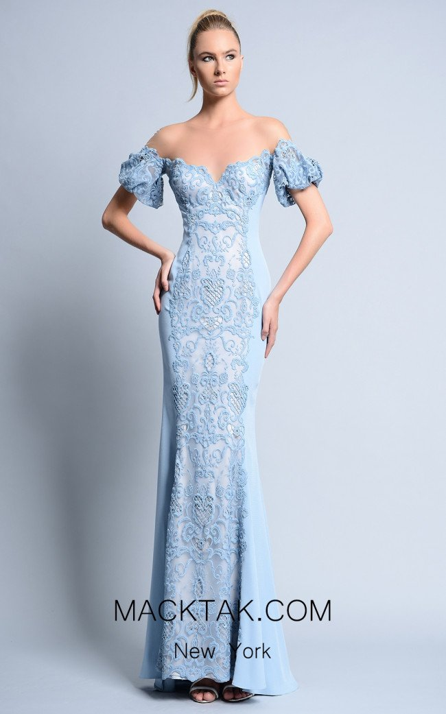 Beside Couture by Gemy Maalouf BC1118 Front Dress