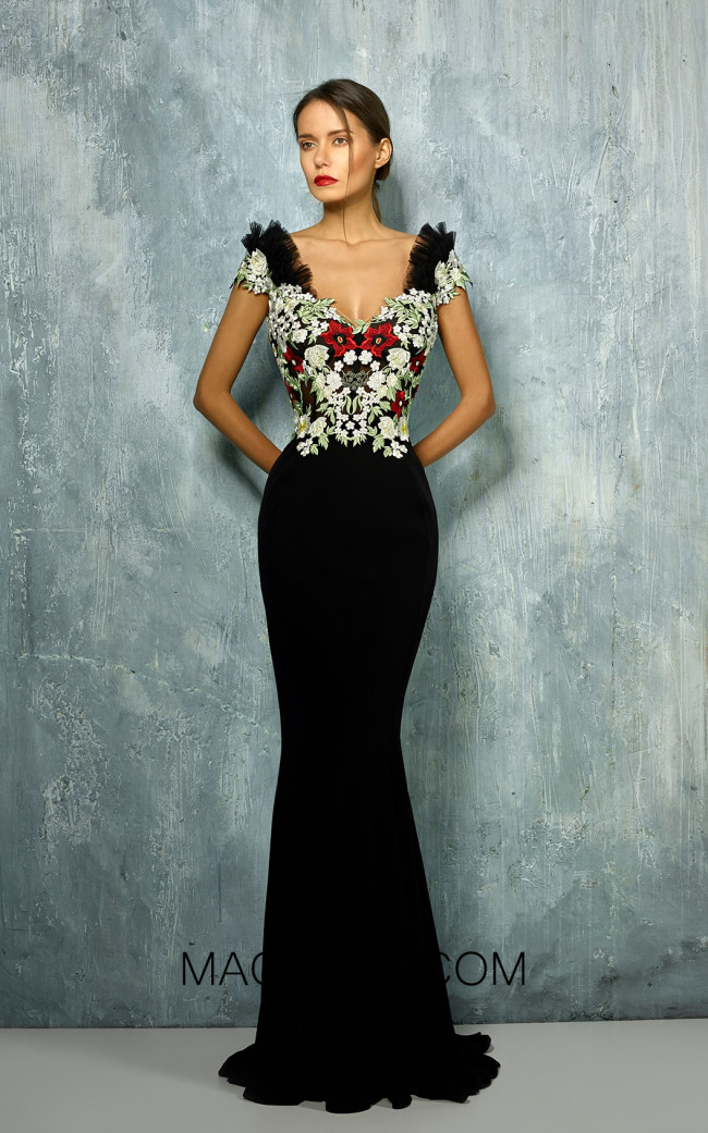 Beside Couture by Gemy Maalouf BC1276 Front Dress