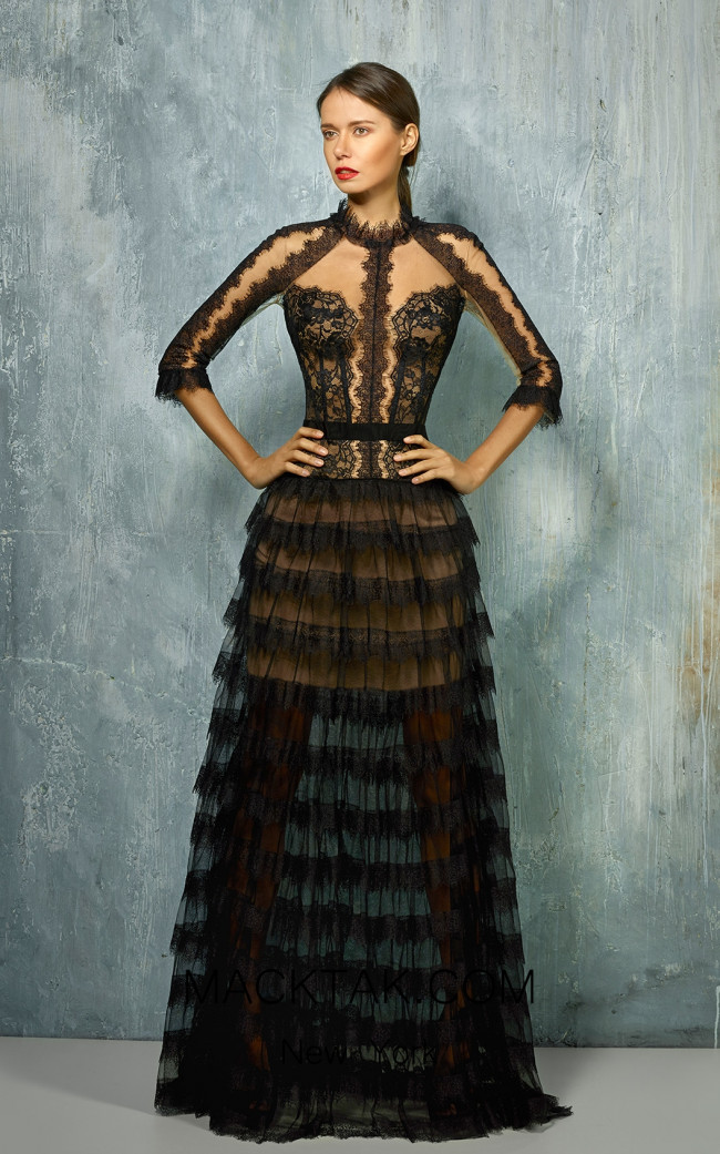 Beside Couture by Gemy Maalouf BC1279 Front Dress