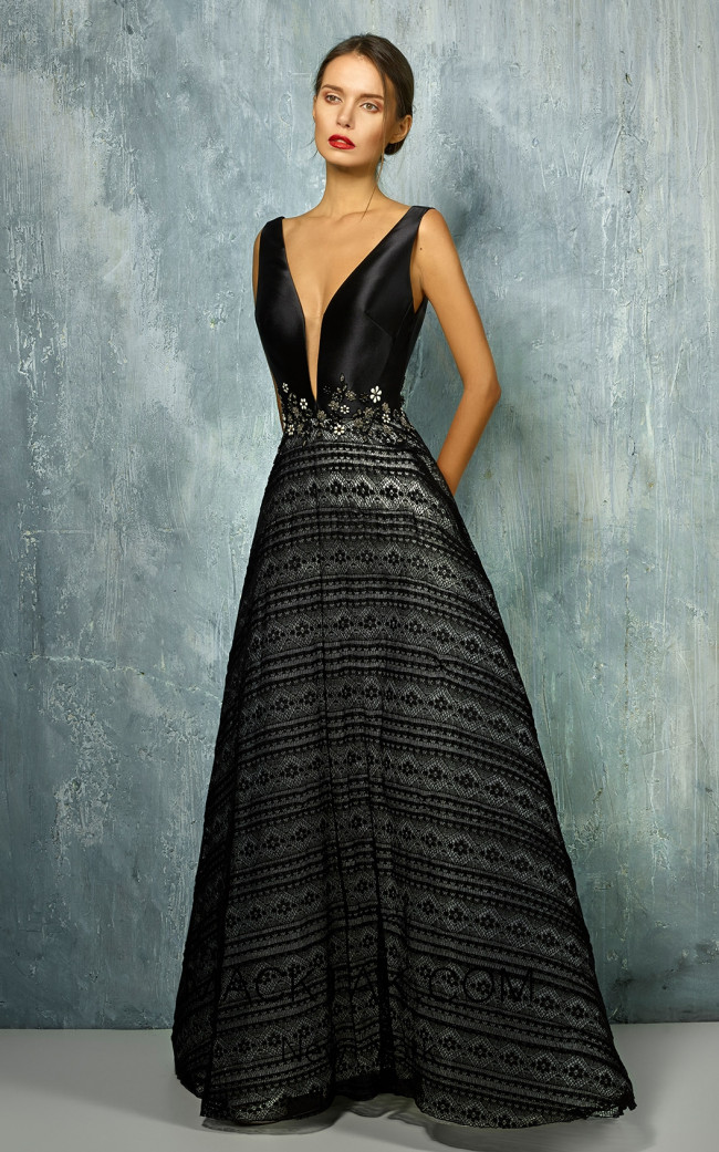 Beside Couture by Gemy Maalouf BC1282 Front Dress