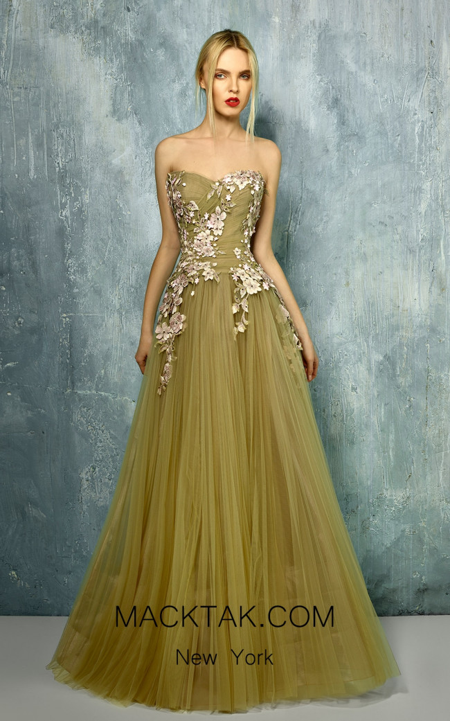 Beside Couture by Gemy Maalouf BC1292 Front Dress
