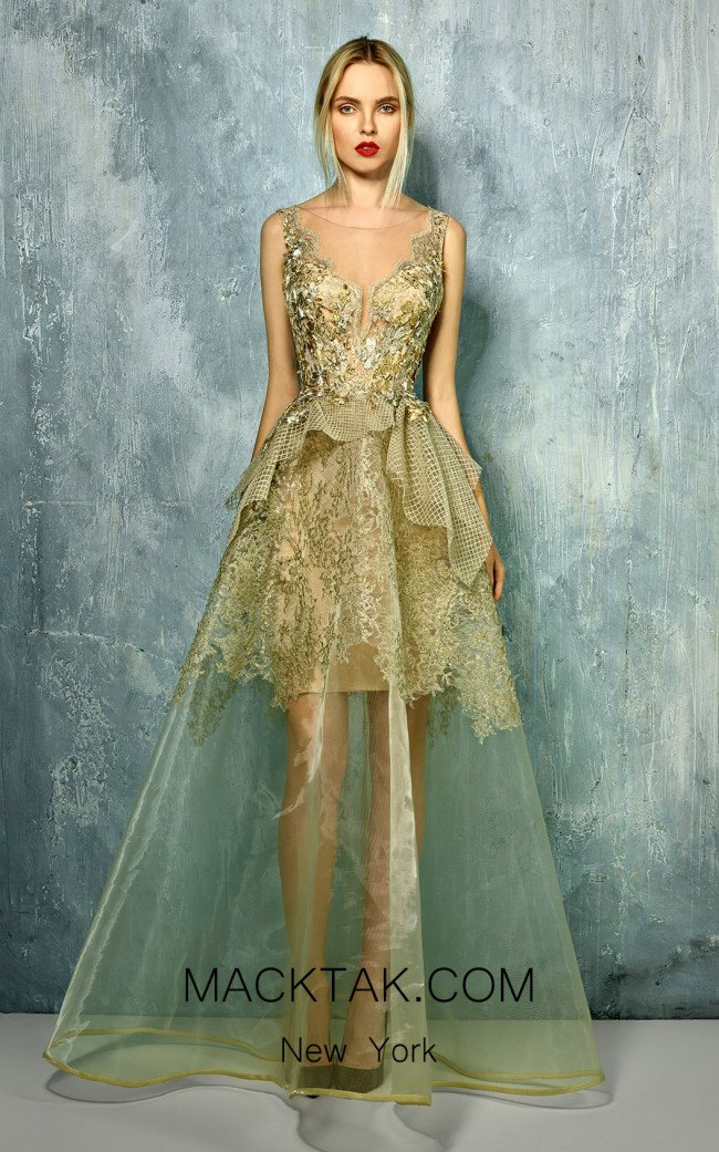 Beside Couture by Gemy Maalouf BC1293 Front Dress