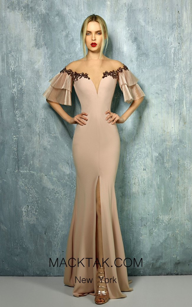 Beside Couture by Gemy Maalouf BC1297 Front Dress