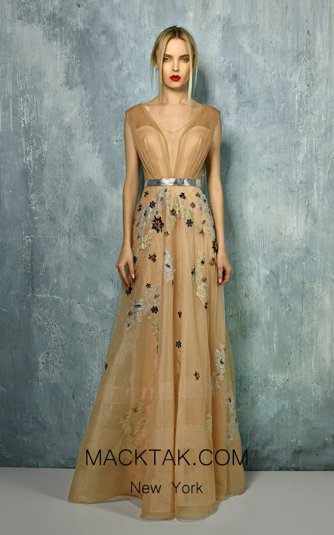 Beside Couture by Gemy Maalouf BC1299 Front Dress