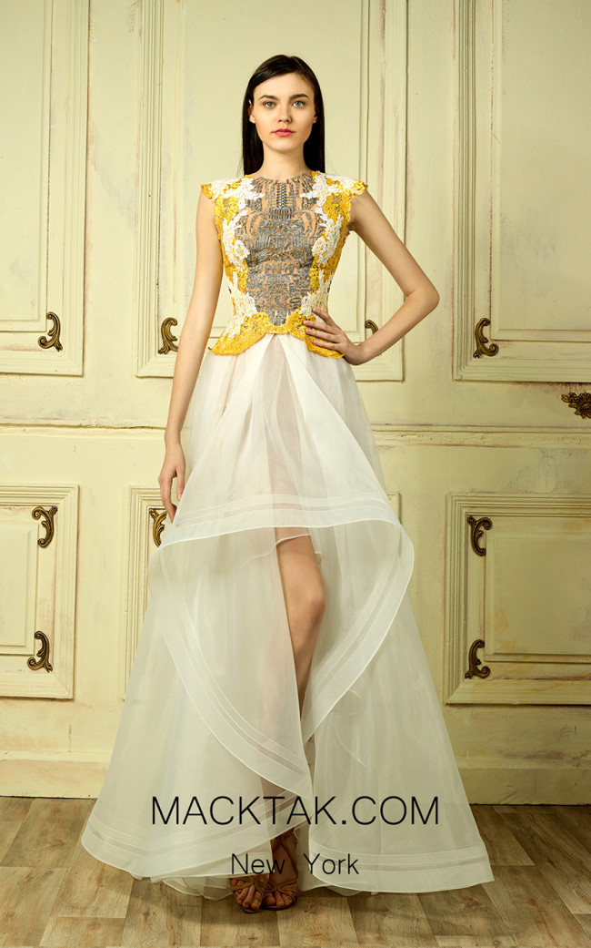 Beside Couture by Gemy Maalouf BC1303 Front Dress