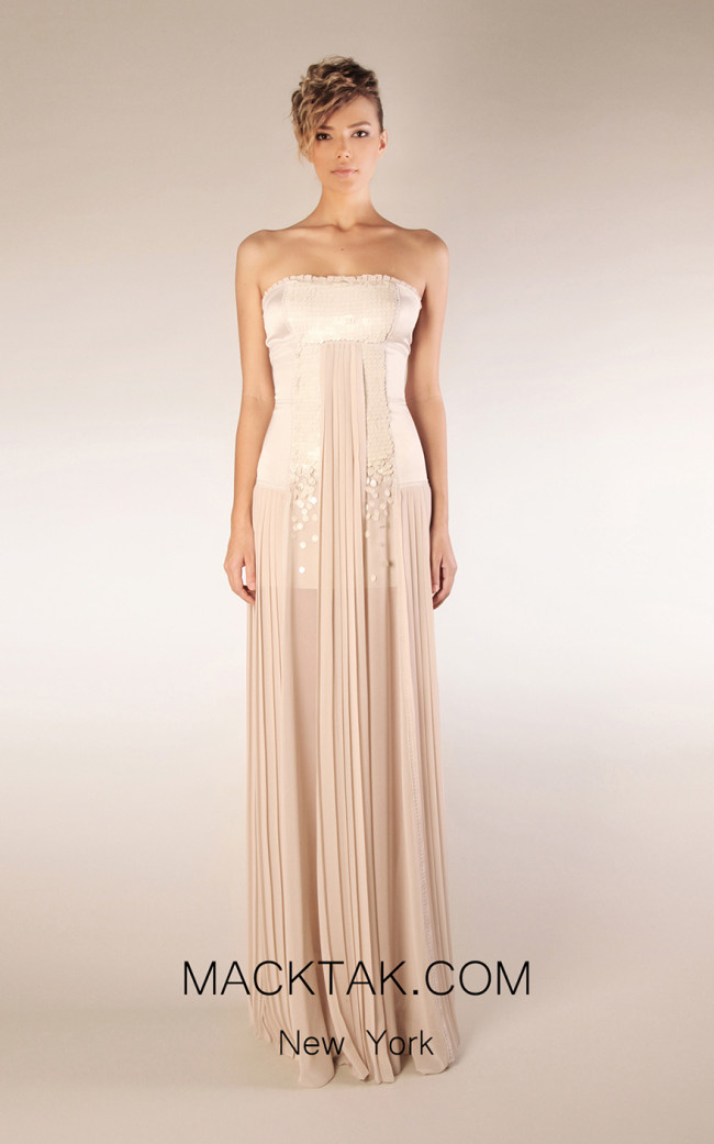 Beside Couture by Gemy Maalouf CPS13 3473 Front Dress