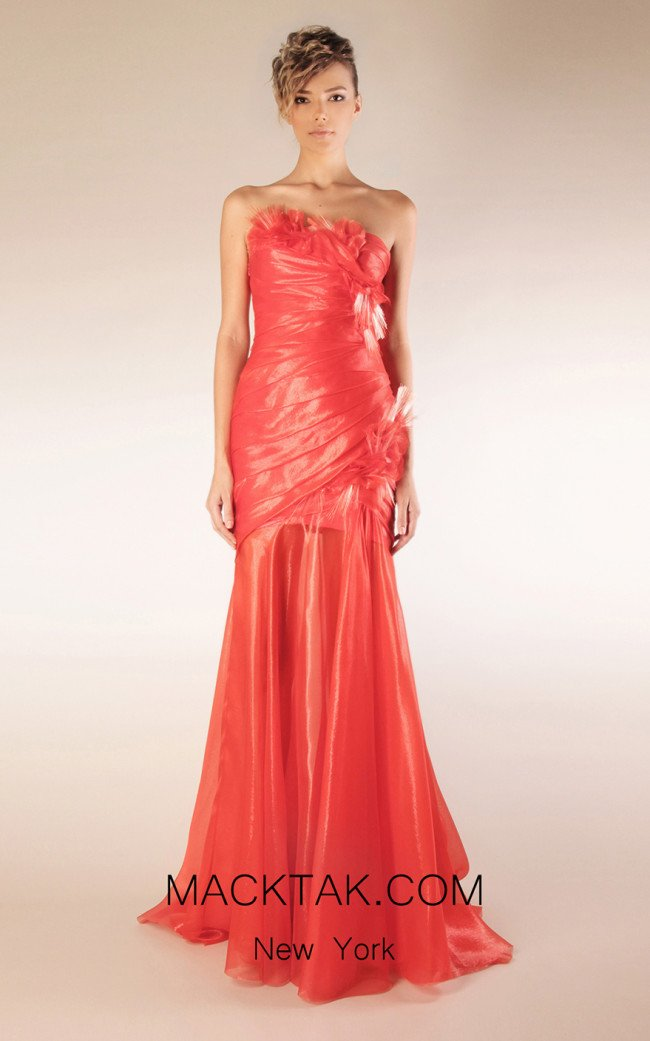 Beside Couture by Gemy Maalouf CPS13 3496 Front Dress