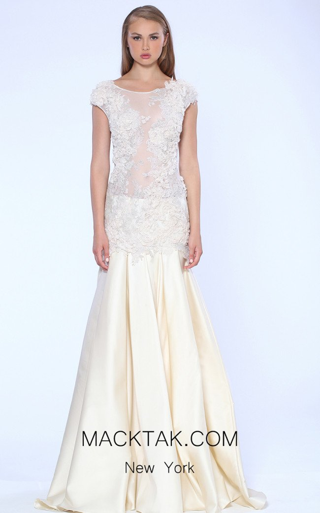 Beside Couture by Gemy Maalouf CPS15 4209 Front Dress