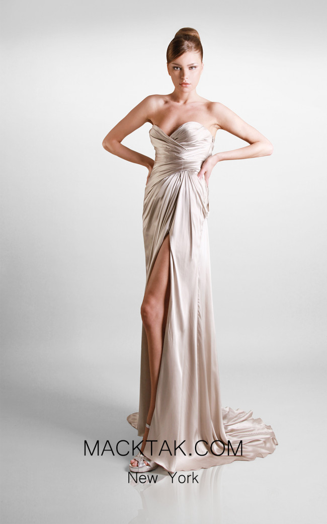 Beside Couture by Gemy Maalouf W 2865/D Front Dress