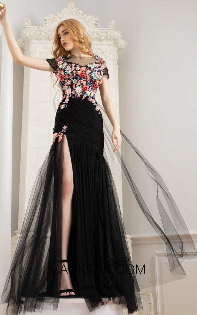 Cristallini SKA956 Front Evening Dress
