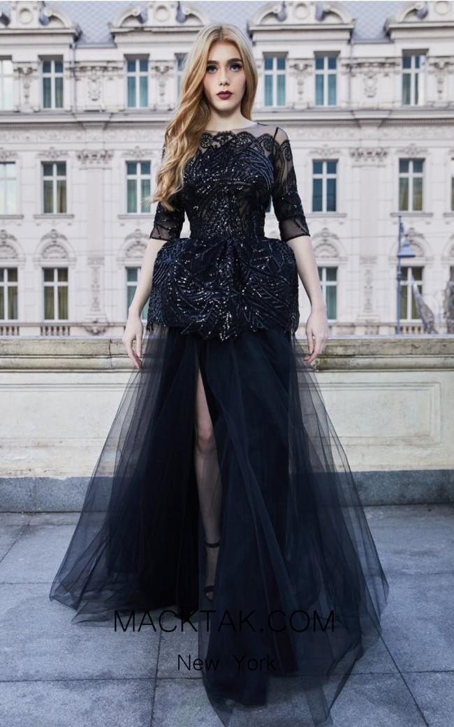 Cristallini SKA960 Front Evening Dress