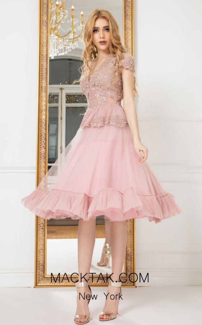 Cristallini SKA964 Front Evening Dress
