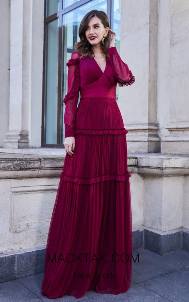 Cristallini SKA966 Front Evening Dress