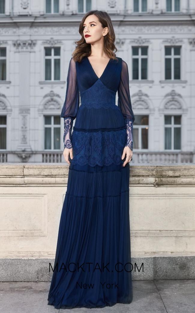 Cristallini SKA968 Front Evening Dress