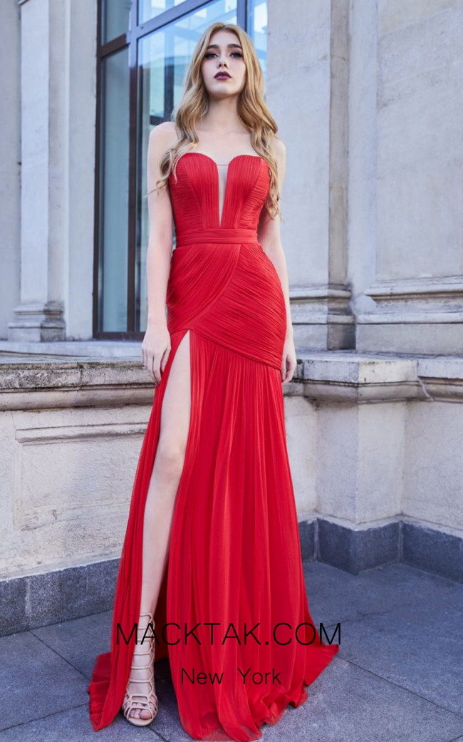 Cristallini SKA971 Front Evening Dress