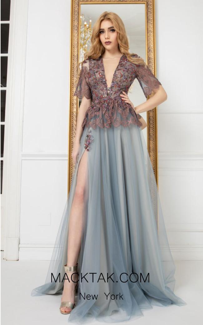 Cristallini SKA972 Front Evening Dress