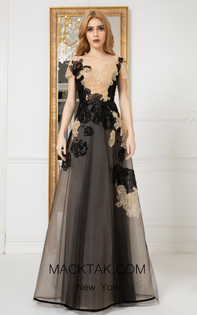 Cristallini SKA974 Front Evening Dress