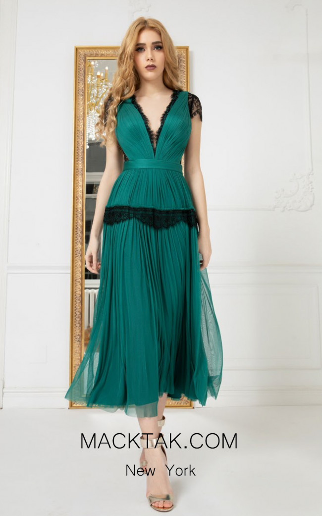 Cristallini SKA980 Front Evening Dress