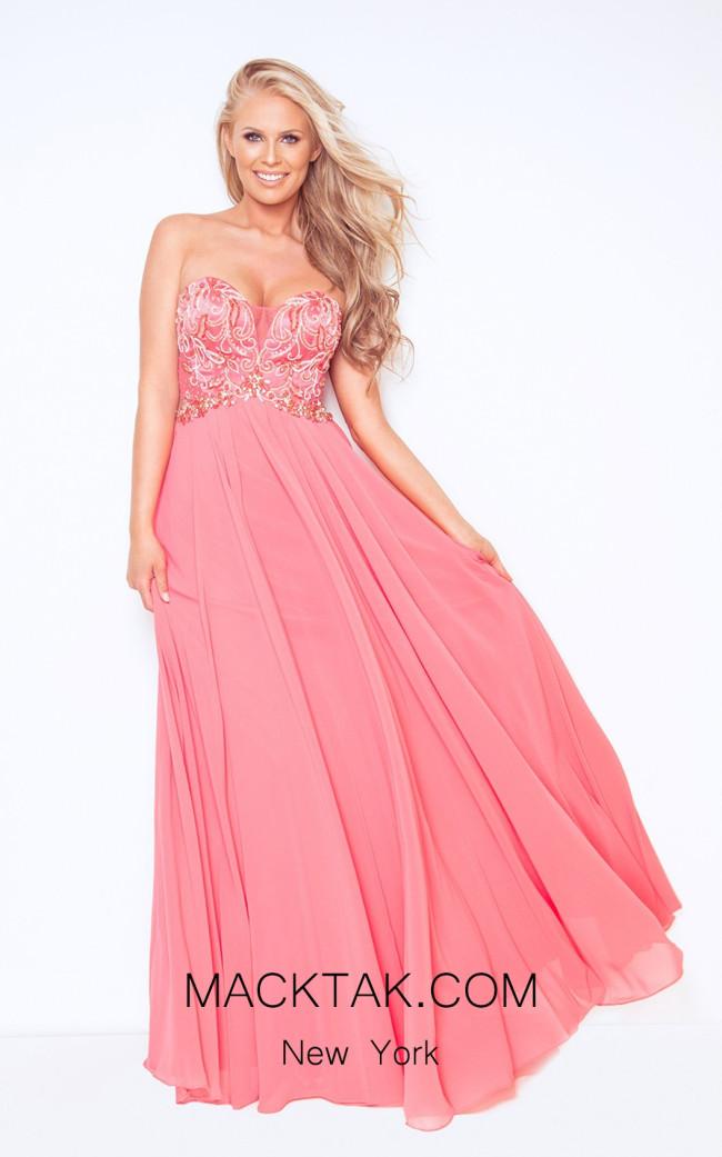 Dynasty 1023014 Front Watermelon Dress