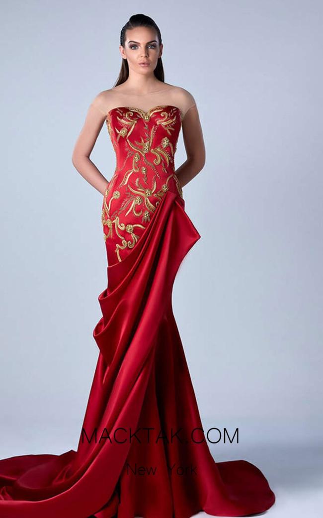 Edward Arsouni 0449 Front Evening Dress